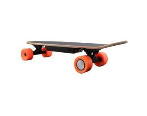Lithium Battery Remote Control Portable 4 Wheel Electric Skateboard