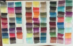 Silk Fabric Color Card pictures & photos