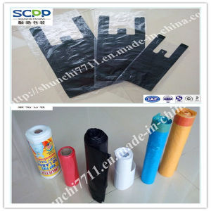 Green Friendly PE Plastic Packaging Garbage Bag pictures & photos