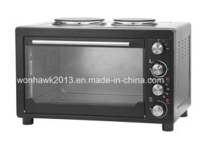 45 Liters with Two Hot Plate Toaster Oven Sb-4502b-H pictures & photos