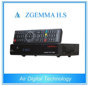 Satelleite TV Receiver Zgemma H. S HD Satellite Finder DVB-S/S2, MPEG 4 with Dual Core CPU pictures & photos