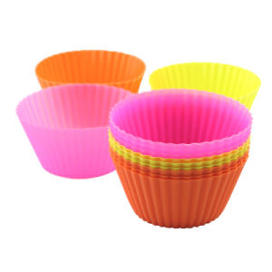 Coloful Atoxic Bakeware Silicone Cake Mould pictures & photos