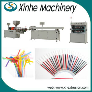 Plastic Extruder Machine for Lollipops Tube, Straw for Ball-Point Pen