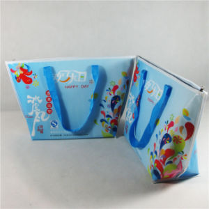 Non-Woven Insulated Thermal Tote Shopping Cooler Bags (MECO155) pictures & photos