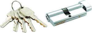 High Security Double Pins Groove Key Cylinder (C3370-151 CP-291 CP) pictures & photos