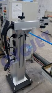 High Speed Laser Coding Machine for Plastic Pipes pictures & photos