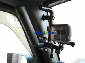 J039 Jeep Wrangler Jk Metal Handle Black Solid Steel Grab Bar Car Accessories for Jeep pictures & photos