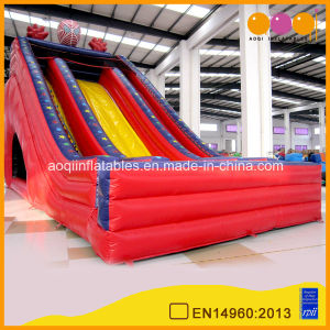 Red Superman Inflatable Slide Amusement Park for Kids (AQ1124) pictures & photos