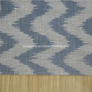 Hot Linen Like Jacquard Design of Soft Textile Window Curtain Fabric pictures & photos