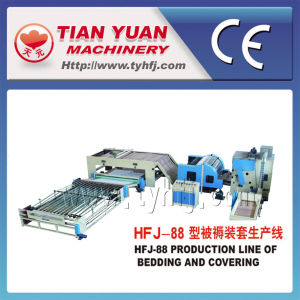 Quilts for Bedding Making Production Line (HFJ-88) pictures & photos