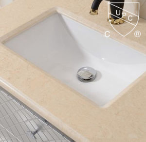 Bathroom Ceramic Counter Trough Vanity Sink Sn025 pictures & photos