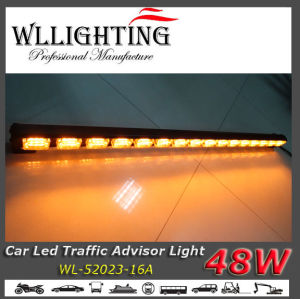 Amber LED Linear Warning Light 39inch Traffic Stick Light pictures & photos