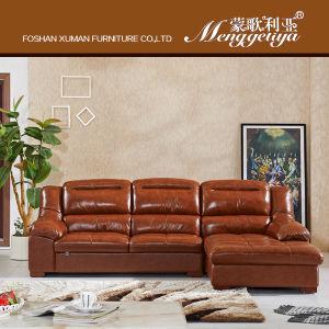 Genuine Leather Classic Sofa (911#)