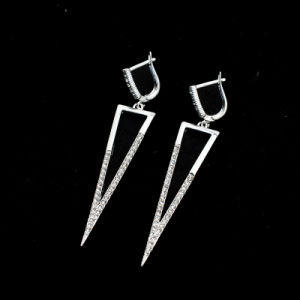 VAGULA 2016 Fashion Stud Silver Plated Earring Rt13131 pictures & photos