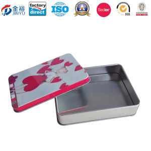 Rectangle Shaped Tin Box for Promotion Gift pictures & photos