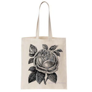 Elegant 100% Cotton 5oz Canvas Fabric Tote/Handles Shopper Bag