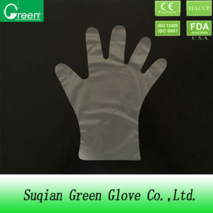 Clear Disposable Stretch Poly Glove pictures & photos