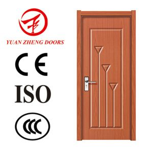 China wooden single door designs pvc room entry door for Single wooden door designs 2016