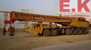 Japanese 120ton Used Hydraulic Kato Truck Crane (NK1200E) pictures & photos