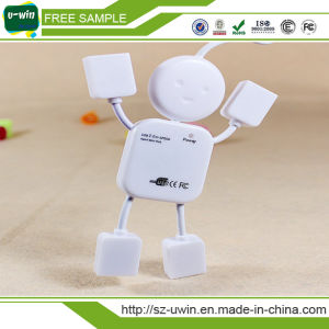 Person Shaped 4 Port USB 2.0 USB Hub pictures & photos