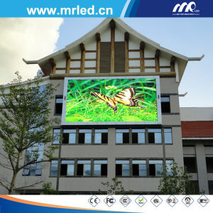 Mrled P20 Advertising LED Display Screen - HD Semi Outdoor (DIP 346) pictures & photos