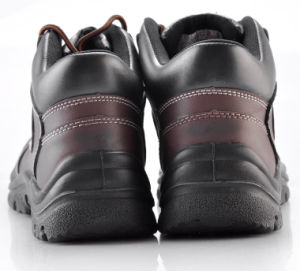 Steel Toe Steel Midsole Safety Shoes (M-8026) pictures & photos