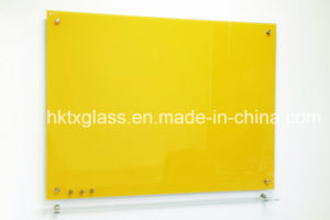 6mm Colourful Glass Whiteboards with ANSI and En12150 Ceritficate pictures & photos