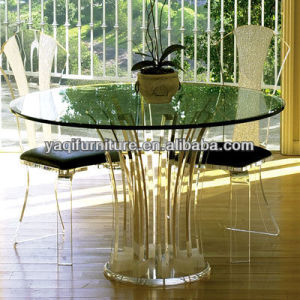 Popular Home Furniture Sets Acrylic Table and Chair