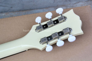 Hanhai Music / Lp Electric Guitar with Milk White Body pictures & photos