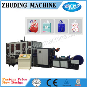 Box Bag Non Woven Bag Making Machine Zdlt600 pictures & photos