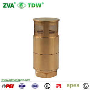 """Tdw Brass Foot Check Valve for Fuel Dispenser Transfer Pipe 1-1/2"""" pictures & photos"""