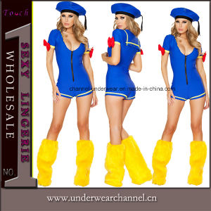Sexy Blue Cartoon Duck Cosplay Adult Animal Costume (TDD80755) pictures & photos