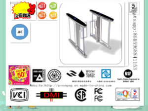 Competitive Price Turnstile Gate Subway 304 Stainless Steel Housing Automatic Turnstile