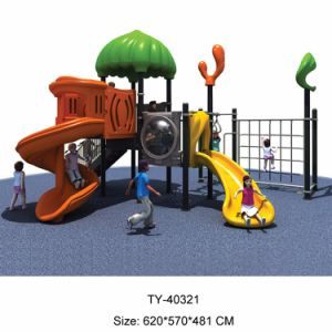 Wooden Outdoor Playground for Kids, Plastic Outdoor Playground (TY-70583) pictures & photos