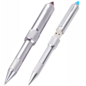 Laser Pointer Ball Pen with USB Flash Stick pictures & photos