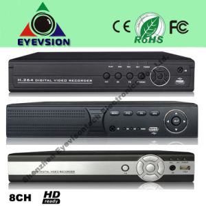 8CH H. 264 D1 Security DVR (EV-8208HD) pictures & photos