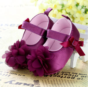 Yellow Flower Fashion Baby Shoes