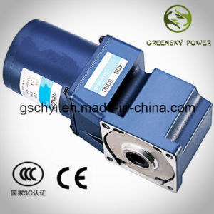 GS 25W 80mm AC Spiral Bevel Angle Gear Motor pictures & photos