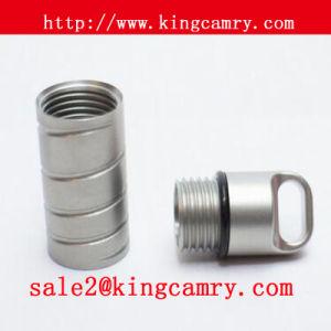 Steel Pill Bottle Holder Stainless Steel Pill Holder Medicine Holder pictures & photos