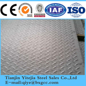 Antiskid Checkered Steel Plate 304, 321, 316L pictures & photos
