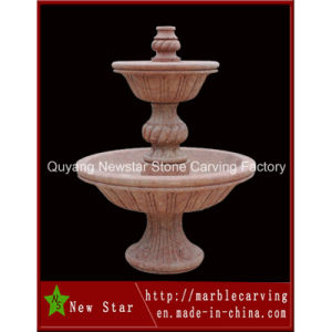 Granite Sculpture Stone Water Fountain for Garden Decoration (NS-309) pictures & photos