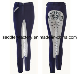 Full Seat Silicone Prints Jodhpurs for Women (B62) pictures & photos