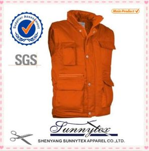 2016 OEM Cheap Outdoor Fishing Custom Multipocket Vest pictures & photos
