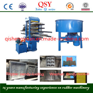 Plate Vulcanizing Press for Rubber Tiles and Rubber Floor pictures & photos
