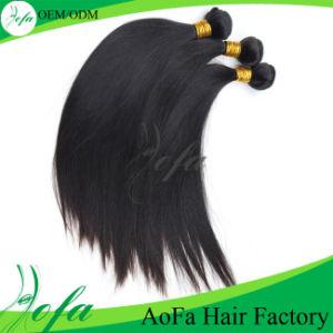 Top Grade 7A Straight 100% Virgin Brazilian Hair pictures & photos