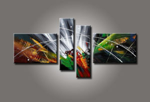Group Canvas Abstract Oil Painting