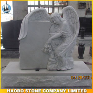 Haobo Angel Monument Marble Tombstone