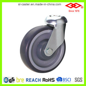 100mm TPR Caster for Trolley (G121-34C100X32) pictures & photos