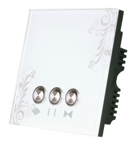 Crystal&Elegant Smart Remote Curtain Controller Switch pictures & photos