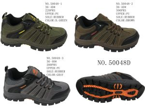 No. 50048 Three Colors Lady Hiking Shoes Sport Shoes pictures & photos